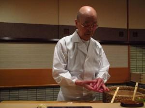 Sukiyabashi-Jiro-Ginza-Tokyo-Chef-Jiro-Ono-at-Work